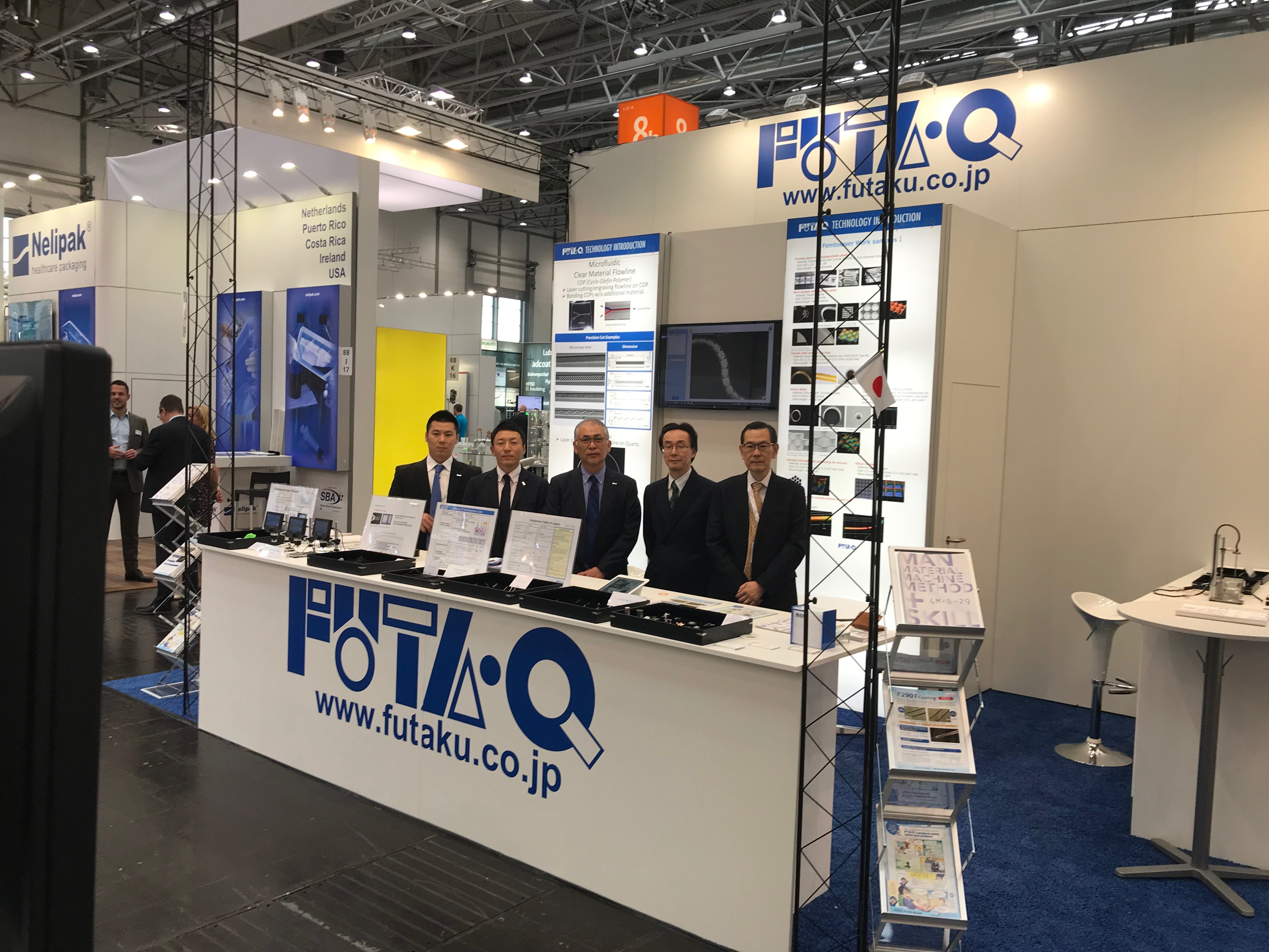 Thank you for visiting our booth at Difficult Manufacturing Technology Show