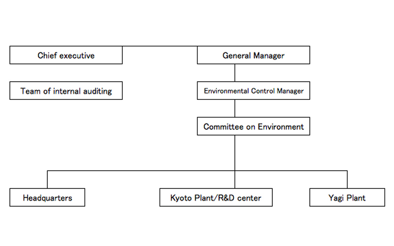 Organization Chart of Environmental Management