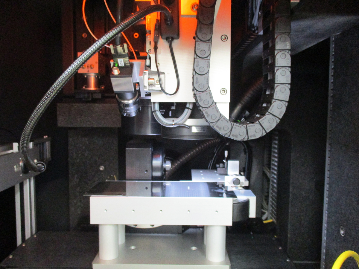 the latest femtosecond laser beam micromachining system