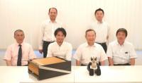 ロボットクリエイター高橋智隆氏来社! 二九精密機械工業