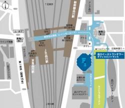 FUTA・Q 東京営業所 MAP