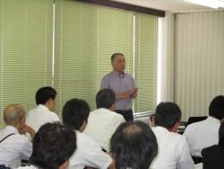 平成27年度京都府立工業高校の夏季総会講演。FUTA・Q。二九良三