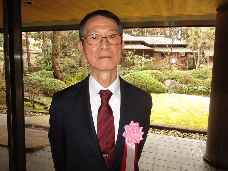 山脇正男さんが「京都府の現代の名工」受賞