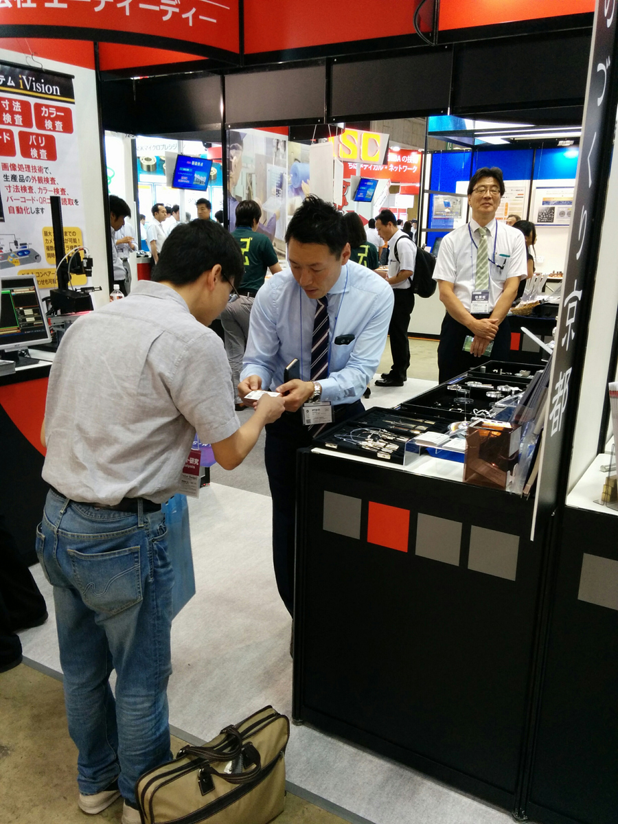Thank you for visiting our booth at M-Tech(Tokyo BIG SIGHT)