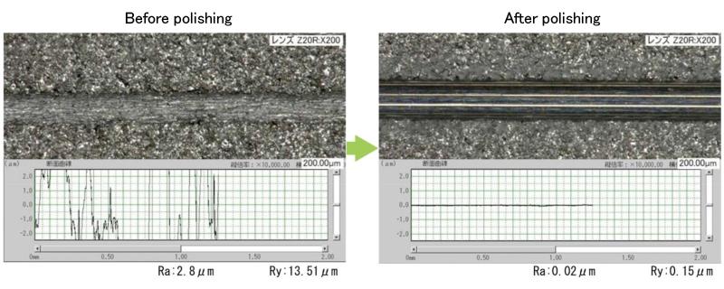S.S. tube bore polishing (SUS316L) .FUTA-Q