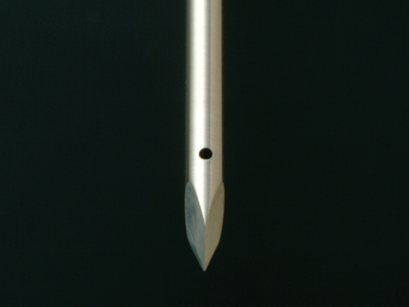 Needle tip processing.FUTA-Q